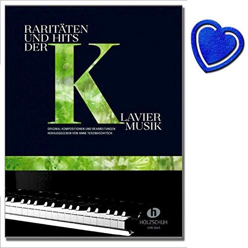 Raritäten und Hits der Klaviermusik - Original-Kompositionen und Bearbeitungen herausgegeben der Klaviermusik aus vier Jahrhunderten von Anne Terzibaschitsch - mit herzförmiger Notenklammer