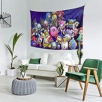 自然風景 Kirby 星のカービィ 多機能 タペストリー インテリア 壁掛け おしゃれ 室内装飾タペストリー カバー カーテン ウォールアート 布ポスター カーテン カスタマイズ可能