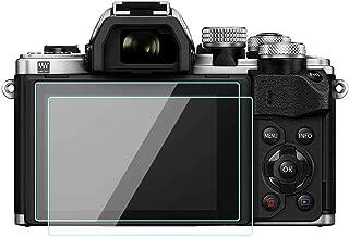 WH1916 Glass Screen Protector Foils Compatible for Olympus E-M10 Mark III II E-M5 Mark II E-PL 9/8 / 7,Tempered Glass Film Anti-Bubble Anti-Scratch Anti-Finger for em10 m3 em5 m2 EPL Camera (2 Pack)
