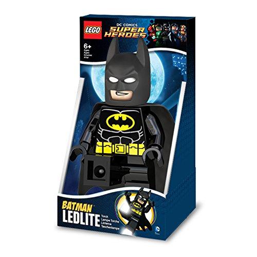 LEGO DC Comics - Linterna Ledlite con diseño de Batman Torch, Color Negro (812750L)