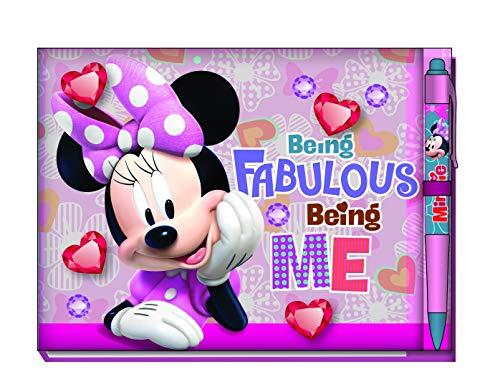 Libro de autógrafos de Minnie Mouse, con bolígrafo