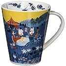 山加商店 MOOMIN (ムーミン) ルオント マグカップ 大 パーティ 日本製 MM3203-35 ブルー 500ml