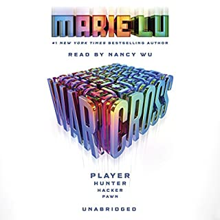 Warcross audiobook cover art