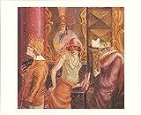 Otto Dix Three Prostitutes on the Street Poster, 64,8 x 80