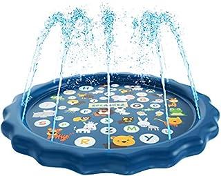 SplashEZ 3-in-1 Sprinkler for Kids, Splash Pad, and...