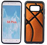 Corpcase - Hybrid Case for Galaxy S8 Plus 6.2'  - Basketball / Unique Case With Great Protection