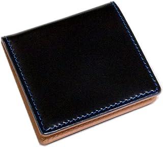 【Saint Mode(セイントモード)】新喜皮革社製コードバン(馬尻革)×本ヌメ革 BOX型小銭入