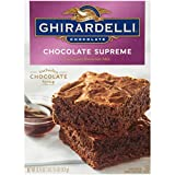 RICH FLAVOR: Indulge in the decadent chocolate taste that you expect from Ghirardelli REAL INGREDIENTS: Our Chocolate Supreme Brownie includes lush, velvety chocolate syrup for an ultra rich, moist and chewy treat IMPROVED RECIPE: Our new mix offers ...