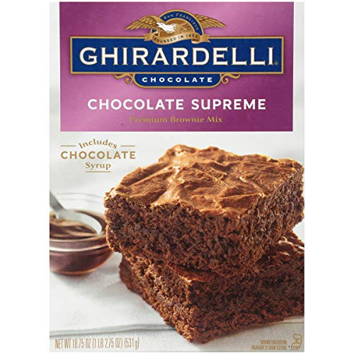 Ghirardelli Chocolate Supreme Brownie Mix, 18.75 Oz