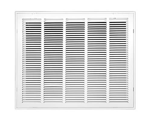 Venti Air 25' X 20' Steel Return Air Filter Grille - Free 2-3 Business Day Delivery [Outer Dimension: 27.5'W X 22.5' H]