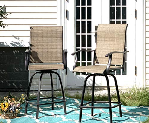 Sophia & William Outdoor Swivel Bar Stool