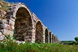 Poster-Bild 60 x 40 cm: Ruins of Ancient City of Perge Near
