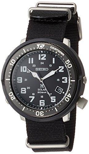 [セイコーウォッチ] 腕時計 プロスペックス LOWERCASEプロデュースカジュアルモデル SBDJ027 メンズ ブラック