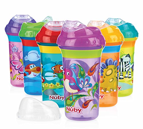 Nûby ID10265 Gobelet Anti-Goutte Cool Sipper 270 ml 18M+