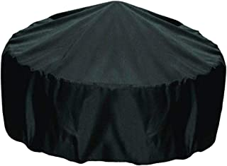 Perfk Water-Resistant 30 Inch Round Fire Pit Cover