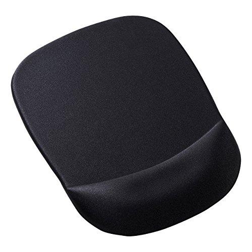 サンワサプライ低反発リストレスト付きマウスパッド(ブラック)
