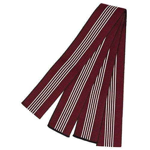 KYOETSU Men's Japanese Tanzen Obi Belt for Yukata Spa Robe (Red)