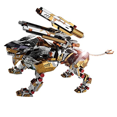 Perfeclan 3D Metal Art Craft Brüllende Löwenskulptur Modellbausätze 323 Stück