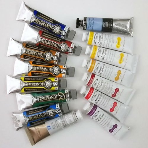 Michelle Dunaway's Oil Color Mixing Set