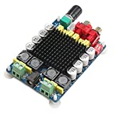 DROK DR-US110047 TDA7498 2X100W Dual Channel Class D Audio Amplifier Board, DC 24V Digital Stereo Power Amp Module for 8Ω Subwoofer Computer Speaker Motorcycle