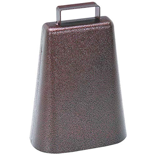 Our #2 Pick is the Cowbells 7 Inch Steel Cowbell with Handle