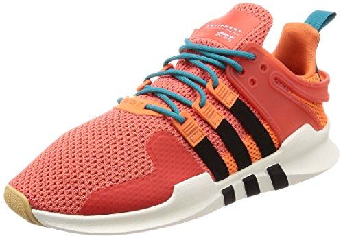 adidas EQT Support ADV Summer, Zapatillas de Gimnasia Hombre, Naranja (Trace Orange S18/white Tint S18/gum 3), 41 1/3 EU