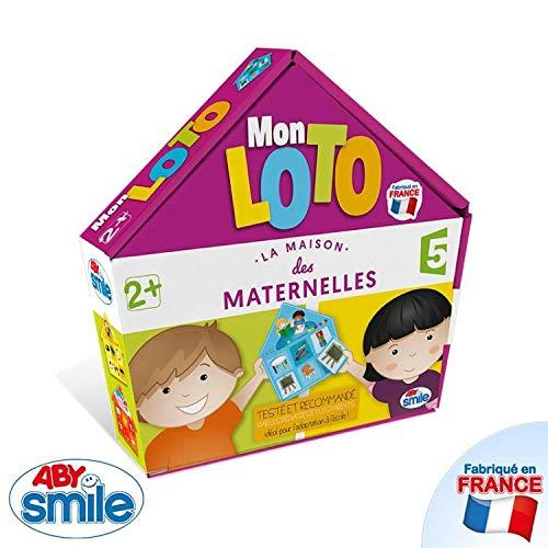 Jeu éducatif Les Maternelles - Mon Loto