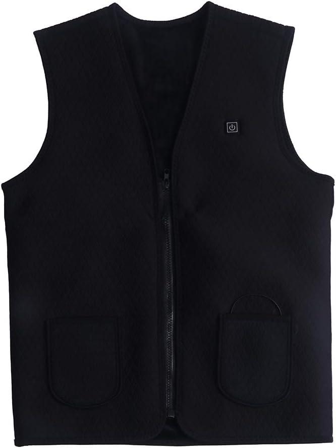 LaKua Men's Electric Louisville-Jefferson County Max 79% OFF Mall Battery Heating Vest USB Winter Sleeveless