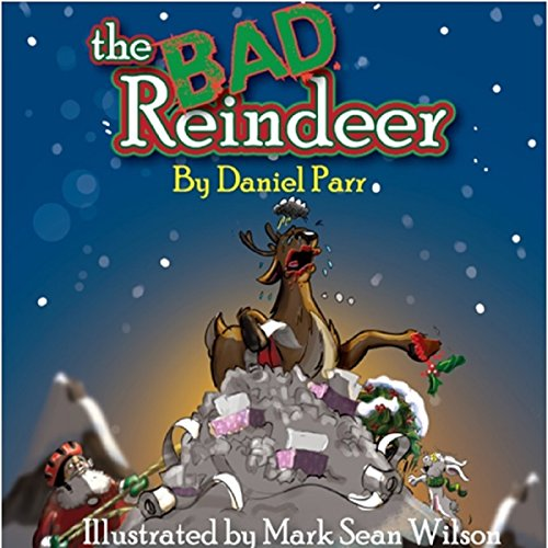 The Bad Reindeer audiobook cover art