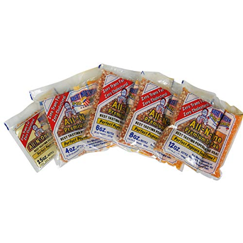 Product Image 2: Great Northern Popcorn Company 8 Oz Kettle Premium Popcorn Portion Packs with Gourmet Popcorn Kernels, Coconut Oil, and Butter Flavored Salt, Case of 24