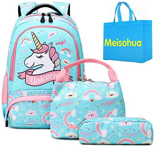Mochila Unicornio Niños Impermeable Mochila Escolar para Ad