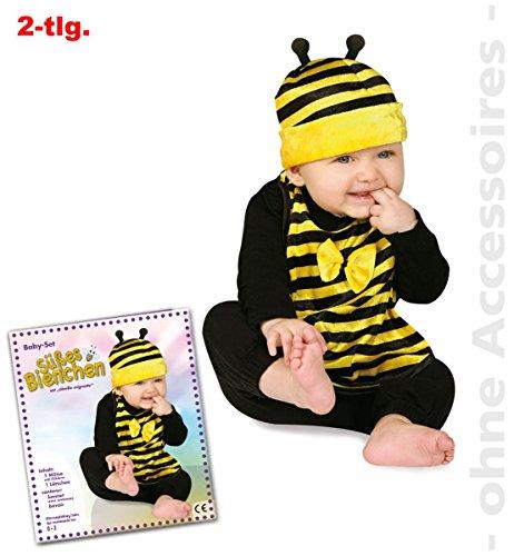 Fritz Fries & Söhne GmbH & Co Bebé Establecer Abeja Sombrero Traje de Abeja con Baberos de Carnaval para niños (bebés)
