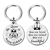 50th Birthday Gifts Ideas for Women, Happy 50 Years Old Birthday Party Favors