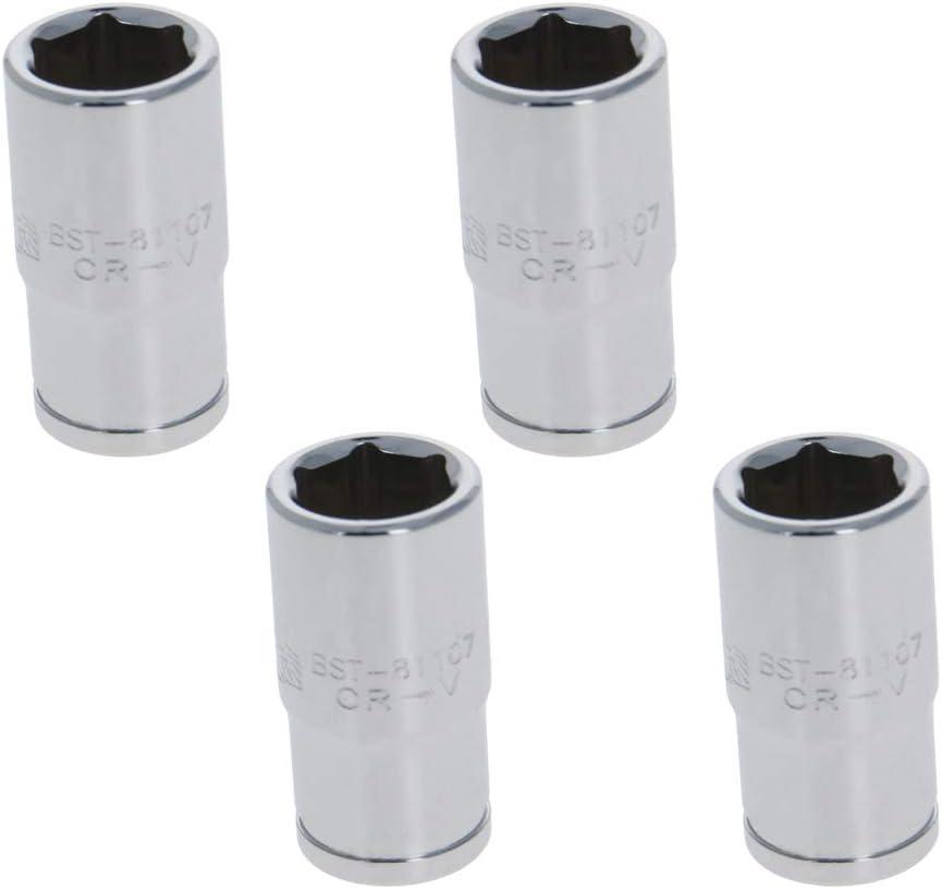Cr-V,Imperial 1 Pcs Utoolmart 1//4 inch Drive 5//32 inch 6 Point Shallow Socket