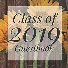 Class of 2019 Guestbook: Sunflower Flower Floral Graduation Party Guest Sign In Book Registry|Graduate Parties Supplies|Senior Keepsake ... Address|University College High School