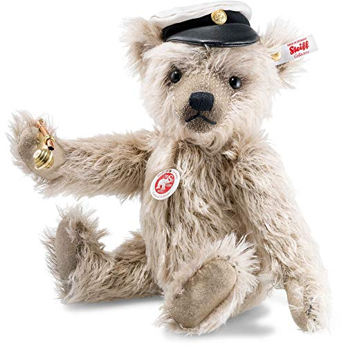 Steiff limited edition knuffel Captain Keith Teddy bear, caramel 31 cm