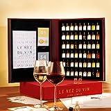 Le Nez Du Vin Modelo grande con 54aromas Alemán, Edition Jean Lenoir–(nezduvdt)/vino aromas de Juego para el juicio de Llorar