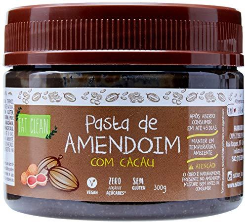 Pasta de Amendoim com Cacau Zero Pote Eat Clean 300g