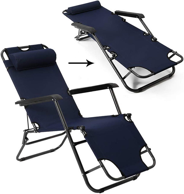 RUIX Folding Chair, Nap Bed, Single Siesta Chair, Beach Bed, Leisure Bed