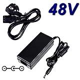 TOP CHARGEUR * Netzteil Netzadapter Ladekabel Ladegerät 48V für Smart Switch Ethernet Netgear ProSAFE GS110TP-200EUS GS110TP