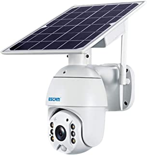 LUZAISHENG QF480 US Version HD 1080P IP66 Waterproof 4G Solar Panel PT IP Camera Without Battery, Support Night Vision/Mot...