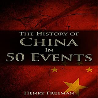 Couverture de The History of China in 50 Events