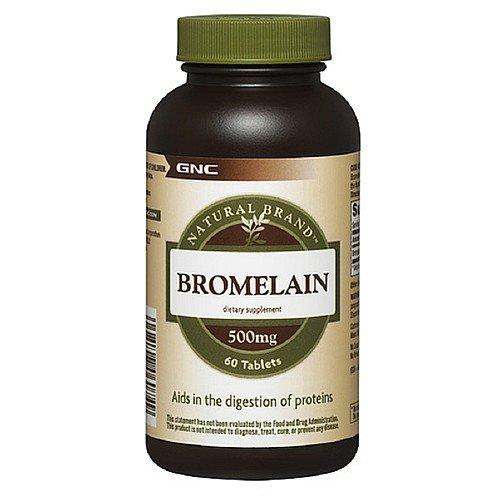 GNC Natural Brand Bromelain, 500mg, Tabletten 60 ea