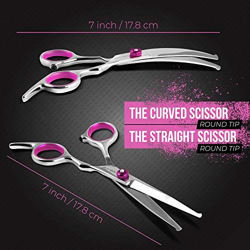 ELMA ALMI Dog Grooming Scissors - Dog Scissors for Grooming, Pet Grooming Scissors, Grooming Scissors for Dogs
