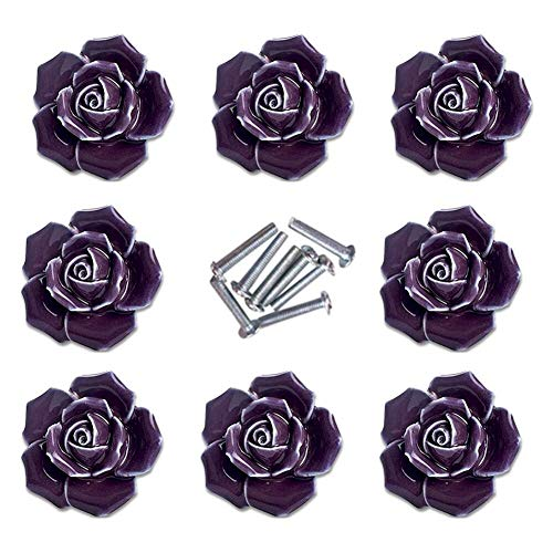 Flower Dresser Pulls Handles Drawer Pulls Handles Classical Kitchen Cabinet Door Handle Pull Knob Cupboard Knobs Handles Hardware Blossom