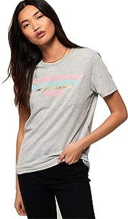 Superdry Women's City Nights Splice Crew Neck T-Shirt