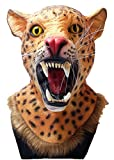 Panther mask Realistic Animal Wild Panther Latex Mask Novelty Halloween Costume Party Latex Animal Mask Full Head for adults