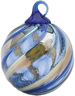 Glass Eye Studio Limited Edition Midnight Blue Ornament