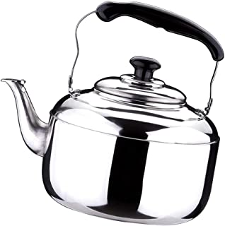 Baosity Various Stainless Steel Whistling Kettle Electric Gas Hobs Stove Top Safe - 4L