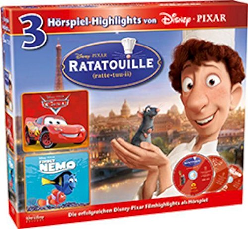 Ratatouille/ Cars/ Findet
